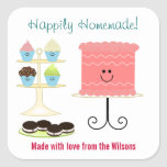 Happily Homemade Large Baking Sticker