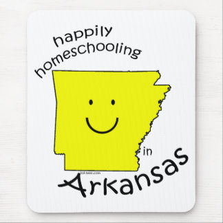 Happily Homeschooling in Arkansas Mouse Pad