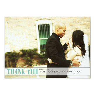 HAPPILY MARRIED 5X7 PAPER INVITATION CARD