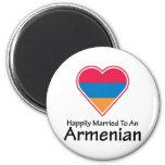 Happily Married Armenian Fridge Magnets