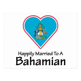 Happily Married Bahamian Postcard