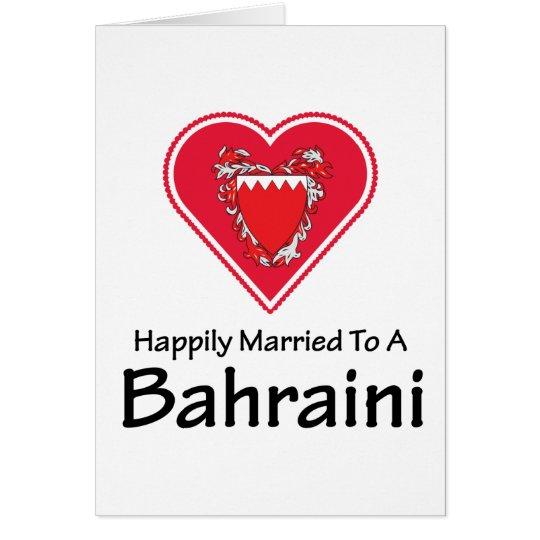 Happily Married Bahraini Card