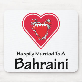Happily Married Bahraini Mouse Pad