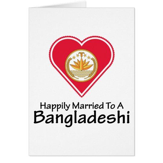 Happily Married Bangladeshi Card