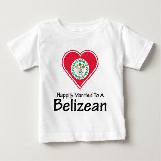 Happily Married Belizean Infant T-shirt