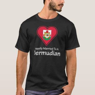 Happily Married Bermudian T-Shirt