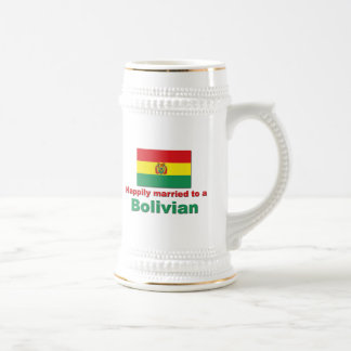 Happily Married Bolivian Beer Stein