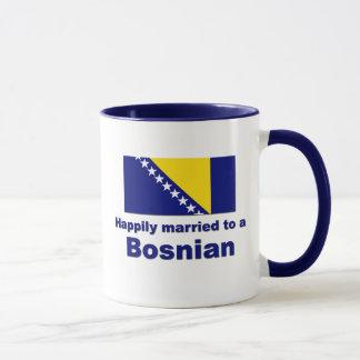 Happily Married Bosnian Mug