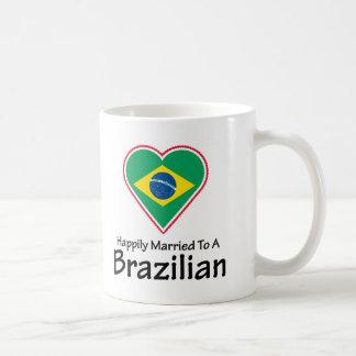 Happily Married Brazilian Coffee Mug