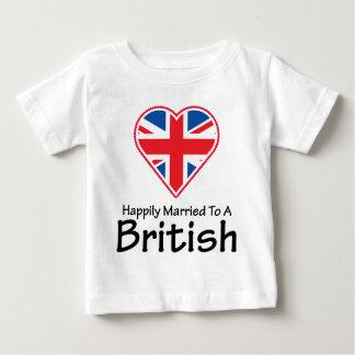 Happily Married British T-shirt