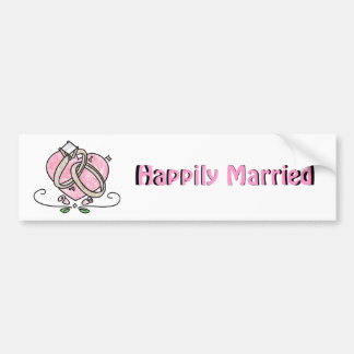 Happily Married Bumper Stickers