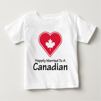 Happily Married Canadian T Shirt