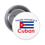 Happily Married Cuban Button