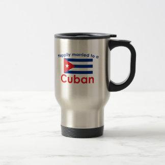 Happily Married Cuban Travel Mug