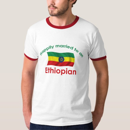 Happily Married Ethiopian T-Shirt