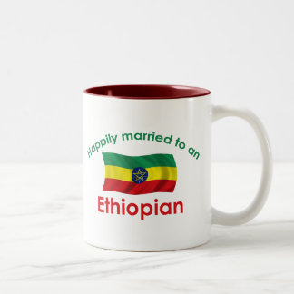 Happily Married Ethiopian Two-Tone Coffee Mug