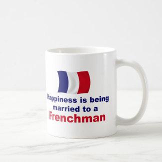 Happily Married Frenchman Classic White Coffee Mug