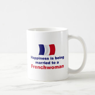 Happily Married Frenchwoman Classic White Coffee Mug