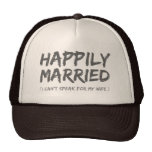 Happily Married Funny hat