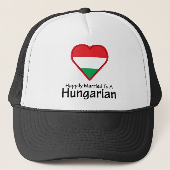 Happily Married Hungarian Trucker Hat