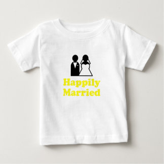 Happily Married Infant T-shirt