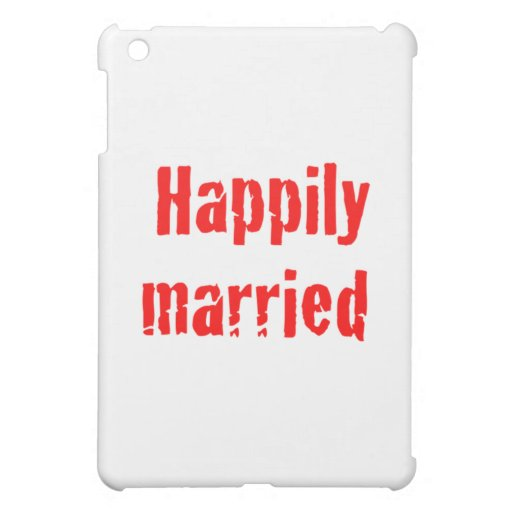 happily married iPad mini covers