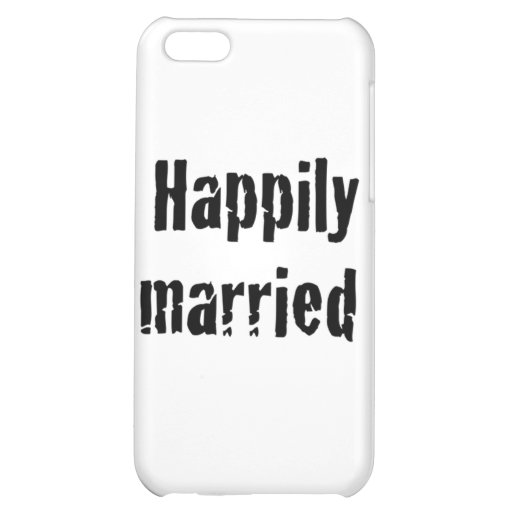 happily married iPhone 5C cover
