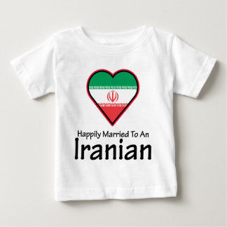 Happily Married Iranian Infant T-shirt