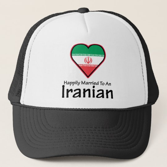 Happily Married Iranian Trucker Hat