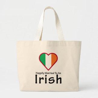 Happily Married Irish Jumbo Tote Bag