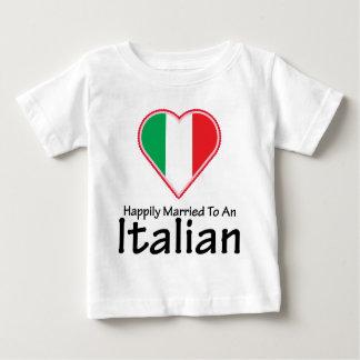 Happily Married Italian T Shirt