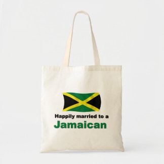 Happily Married Jamaican Budget Tote Bag