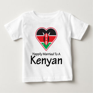 Happily Married Kenyan Infant T-shirt