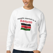 Happily Married Kenyan Sweatshirt