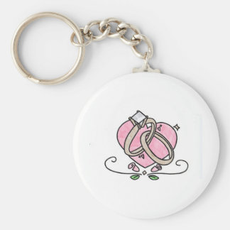 Happily Married Keychain