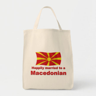 Happily Married Macedonian Tote Bag