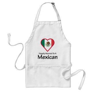 Happily Married Mexican Adult Apron