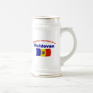 Happily Married Moldovan Beer Stein
