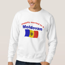 Happily Married Moldovan Sweatshirt