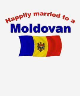 Happily Married Moldovan Tshirts