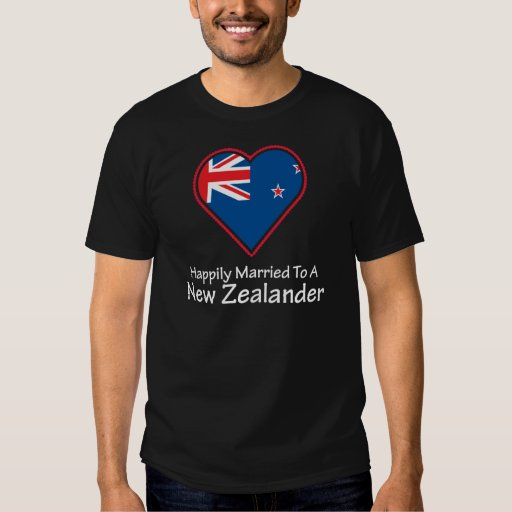 happily married New Zealander T-shirts