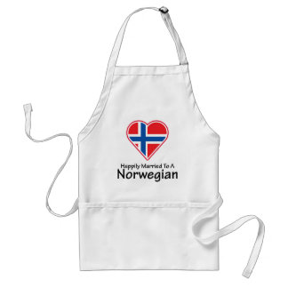 Happily Married Norwegian Adult Apron