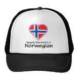 Happily Married Norwegian Trucker Hat