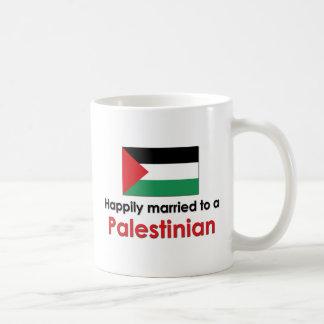 Happily Married Palestinian Classic White Coffee Mug