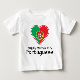 Happily Married Portuguese Infant T-shirt