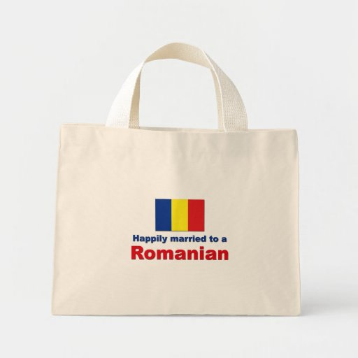 Happily Married Romanian Mini Tote Bag