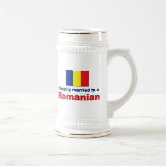 Happily Married Romanian Coffee Mugs