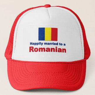 Happily Married Romanian Trucker Hat