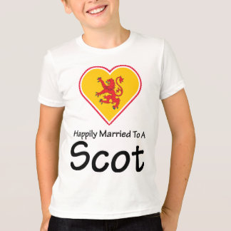 Happily Married Scot T-Shirt