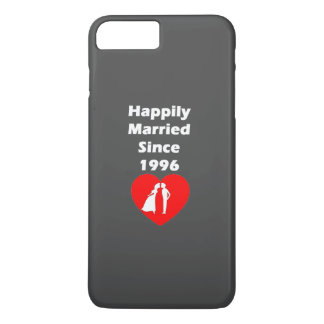 Happily Married Since 1996 iPhone 8 Plus/7 Plus Case